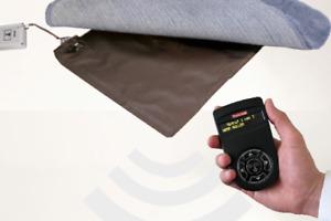 Alarm-Trittmatte (Funkalarm) incl. Funk-Empfänger mit Display und Bestätigung