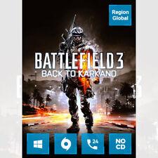 Battlefield 3 Back to Karkand Expansion DLC for PC Game Origin Key Region Free
