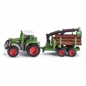 Siku Siku1645 Tracteur Avec Remorque Forestiere