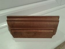 Half Newel Post cap NEW 21.5 x 6.5 x 6.75 cms