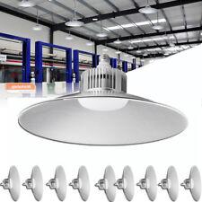 10X 100W LED High Bay Lights Industrial Workshop Factory Stadium Lighting Cool