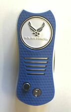 Air Force Royal/White Switchblade Divot Tool W/ Golf Ball Marker