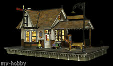 "HO Scale ""The Depot"" Building w/LED Built-&-Ready - Woodland Scenics #BR5052"