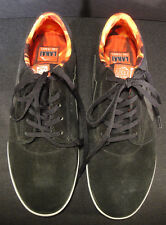 LAKAI GRIFFIN SPITFIRE Shoes Black Suede Mens 11 Fire Flares Skate NEW BOX