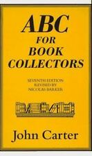 Carter, John  ABC for Book Collectors  US HC 17th Revised Edition NF