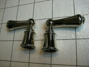 House of Rohl Perrin & Rowe Faucet Lever handles POLISHED NICKEL!!!