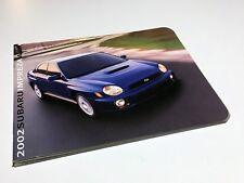 2002 Subaru Impreza RS TS WRX Outback Sport Brochure