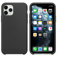 For Apple iPhone 11 Pro Max Case Genuine Hard Silicone Shockproof Phone Cover