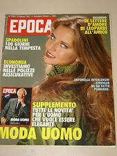 EPOCA=1981/1621=ANTONELLA INTERLENGHI=MERYL STREEP=TAGLIABUE=CANETTI=MOSHE DAYAN