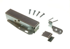 6 X TOUCH LATCH HATCH PUSH WITH FIXING SCREWS AND INSTRUCTIONS