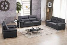 Ledersofa 3+2+1 Sofa Couch Sitzgarnitur Sofas Sitzgruppe 156-3+2+1-S