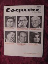 ESQUIRE Magazine April 1965 Robert F. Kennedy Jean Shrimpton Buckminster Fuller