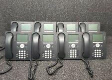 Huge Lot Of 8 Avaya 9608 8 Line Ip Phones Amp Accessories Read