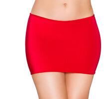 Red Lycra Classic Mini Skirt by Roma Costume O/S 8 10 12 uk Dancewear