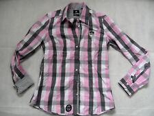 GAASTRA schöne großkarierte Bluse rosa weiß grau Gr. XL TOP 618