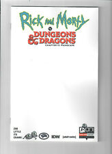 RICK AND MORTY vs DUNGEONS & DRAGONS II #1 - Grade NM - Blank sketch variant!