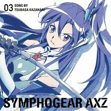 SENKIZESSHOU SYMPHOGEAR AXZ CHARACTER SONG 03 Tsubasa Kazanari Nana Mizuki CD