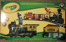 Lionel Crayola G Gauge Train Set New Unopened Box Model 7-11548