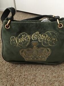 Juicy Couture Olive Green  shoulder Purse
