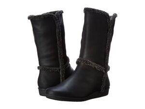 Easy Spirit Womens Jobina Boot Mid Calf DarkBlack Size 6.5 medium (Sale!!!)