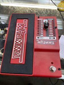 Digitech WhammyV-01 Pitch Shifting Pedal / DODWHAMMY / 12001753929