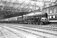 PHOTO British Railways Steam Locomotive 71000 at Carlisle