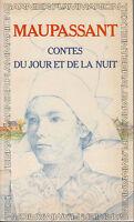 Livre contes du jour et de la nuit Maupassant 1977  Garnier Flammarion book