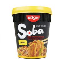 Nissin Soba Classic Cup Noodle - 8 tasses