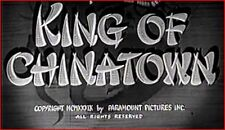 King Of Chinatown 1939 Crime Thriller w/Anna May Wong, Sidney Toler