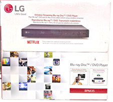 LG Electronics BPM35 Blu-ray Disc Player with Streaming Services Built-in WiFi