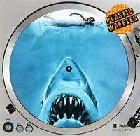 "Jaws Killer Shark #1 Horror Slipmat Turntable 12"" Record Player, DJ Audiophile"