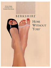 Berkshire Women's Hose Without Toes Ultra Sheer Control Top Pantyhose 5115