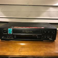 Used JVC HR-VP644U VCR VHS 4-Head 19u HQ Video Cassette Player Recorder HI- FI