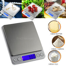 Electronic Digital LCD 0.01-500g Kitchen Scale Balance Jewelry Food Weight Scale