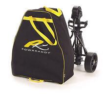 PowaKaddy Golf Trolley Black/Yellow Travel Bag PK3070