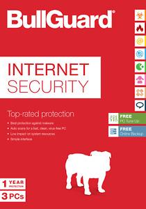 Bullguard Internet Security 2021 / 2022  1/3/ 5 oder 10PC  365 TAGE Win Mac