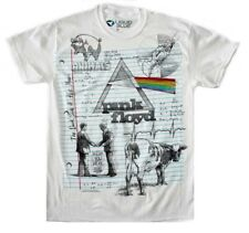 Officially Licensed Pink Floyd Sketch T-shirt Thin Rock Medium