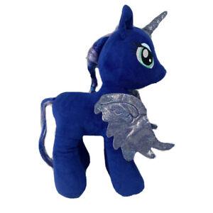 Build A Bear BAB My Little Pony Blue Luna Plush Moon Unicorn Toy Brony