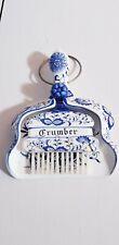 RARE Vintage Arnart Japan Blue Onion Crumber Brush and Pan