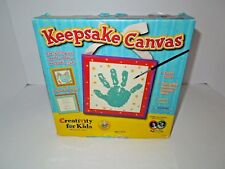 Handprint Kit Keepsake Canvas Creativity for Kids or Baby