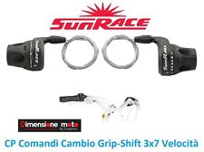 CP Manettini/Comandi Cambio Sunrace 3x7 Veloc. per Bici 27,5-29 MTB Mountain Bik