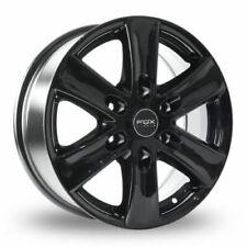 "4 x 16"" Fox Viper Van 2 GLOSS BLACK Alloy Wheels Mercedes Sprinter Crafter"