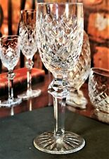"Waterford Crystal POWERSCOURT Sherry Glasses 6 3/8"" 690/124"