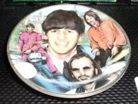 RINGO STARR 1996 Gartlan mini Plate Ornament Beatles Michael J Taylor artwork