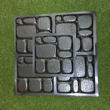 *Old City* Set 5 pcs  ABS Plastic Molds for Concrete Garden Stepping Stone Path