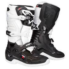 2020 bambini Alpinestars Tech 7 7s Motocross Stivali Nero Bianco Barca CROSS
