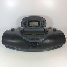 PANASONIC RX-DT75 Vintage FM Stereo CD Double Cassette Radio Tape Aux Boombox