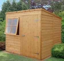 item 3 garden wooden shed workshop pent shed 7x7 12x120mm tg shiplap