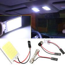 10X T10 W5W BA9S 24 LED Festoon Dome Light Panel Reading 1.5W Bulb White