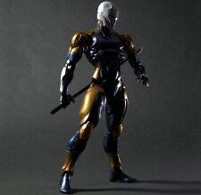Play Arts Kai Metal Gear Solid Cyborg Ninja Gray Fox Action Figure New no Box